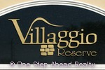 Villaggio Reserve community sign